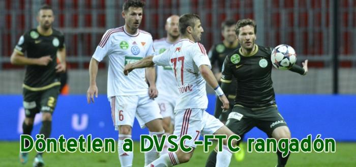 Fordulatos meccset játszottak Debrecenben