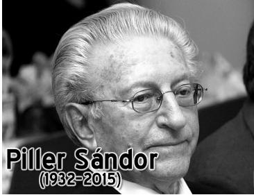 Elhunyt Piller Sándor