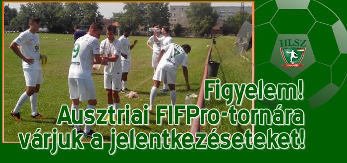 Négyes labdarúgó-tornán vesz részt a HLSZ csapata