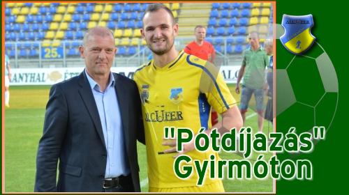 Simon András átvette a legjobb NB II-es játékos díját