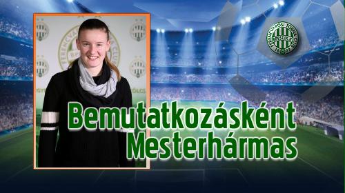 Letette névjegyét a Ferencváros szerb csatára