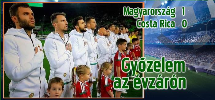 Nikolics góljával nyert a magyar válogatott
