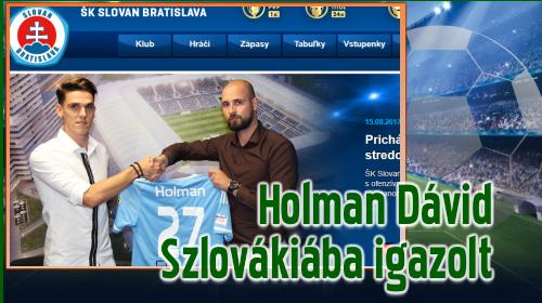 Négy évet írt alá a Slovan Bratislava új játékosa