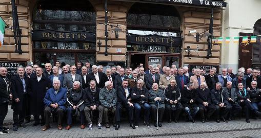 Együtt ünnepeltek labdarúgásunk legendái