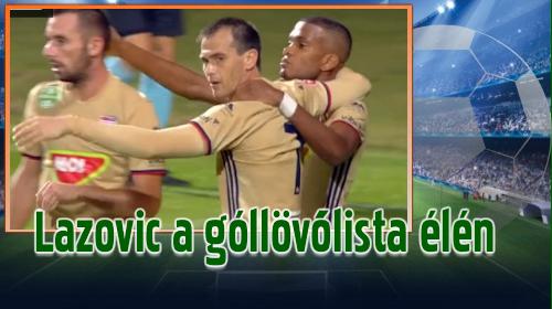 A Lanzafame–Lazovic–Varga trió tagjai öt-öt gólnál tartanak