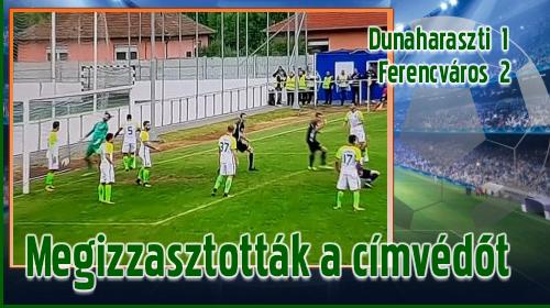 A Magyar Kupa legjobb 64 együttese közé jutott a Ferencváros