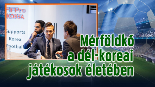 Hivatalosan is bejegyezték a FIFPro Korea szervezetét