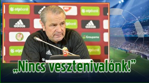 Bizakodó hangulatban készül a magyar válogatott