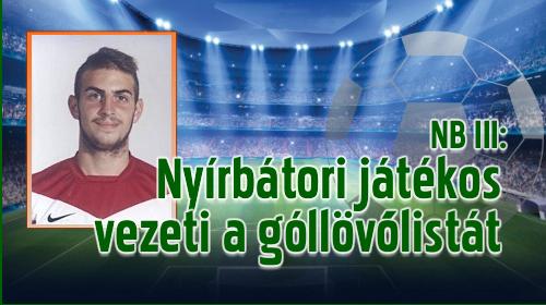 Hornyák Marcell két játéknap után négy gólnál jár