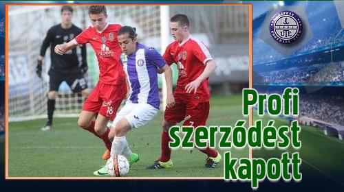 Németh Gergő a Sturm Graz U18-as csapatától érkezett
