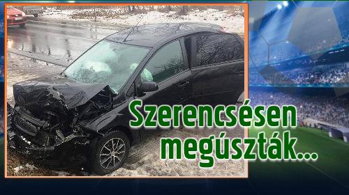 Három cigándi játékos balesetet szenvedett