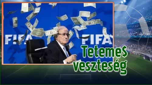 FIFA: 369 millió dolláros mínusz a tavalyi évben
