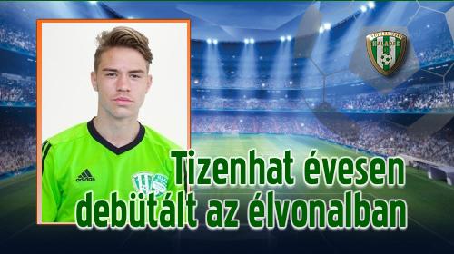 Winkler András győztes meccsen mutatkozott be