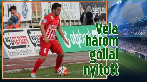 A DVTK spanyol játékosa vezeti a góllövőlistát
