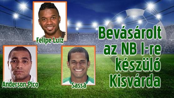Három brazil futballistát igazoltak