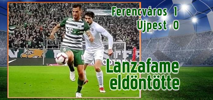Már hét pont a Ferencváros előnye