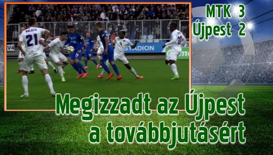 Újpest–Balmazújváros és PFLA–DVSC párharc az MK elődöntőjében