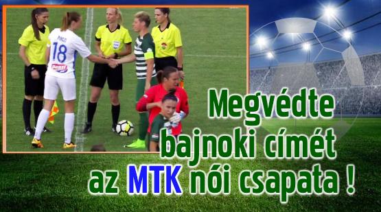 A döntő meccsen: FTC-MTK 1-2