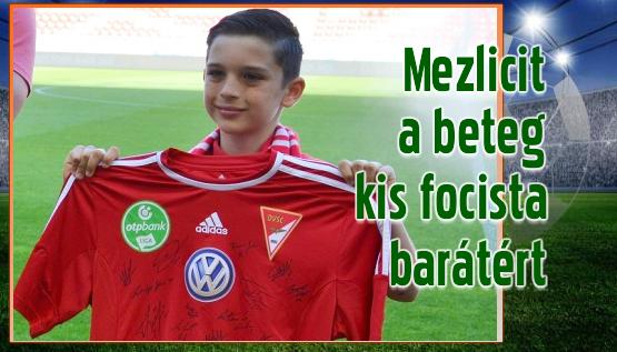 Egy ifjú labdarúgó nemes kezdeményezése segíthet a bajban