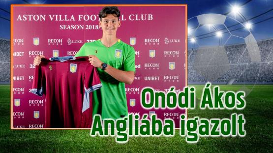 Az Aston Villa szerződtette a tehetséges magyar kapust