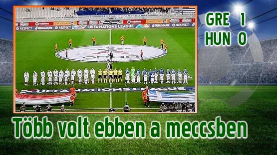 Görögország-Magyarország 1-0