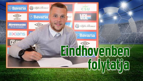 Horváth Olivér egy plusz egy évre szóló szerződést írt alá