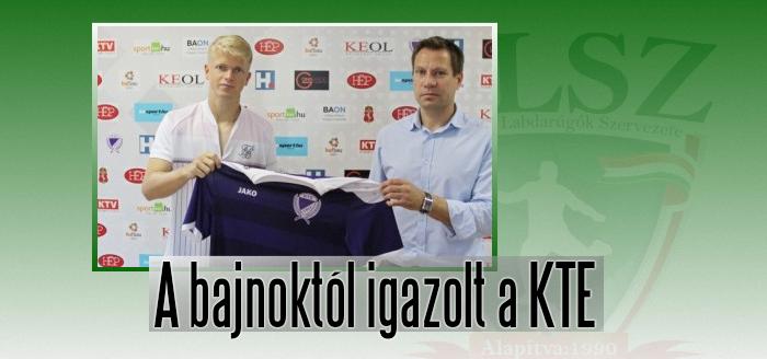 Lilába öltözik a Szeged-Csanád GA játékosa