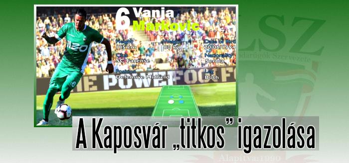 Markovic legutóbb a portugál SC Farense játékosa volt