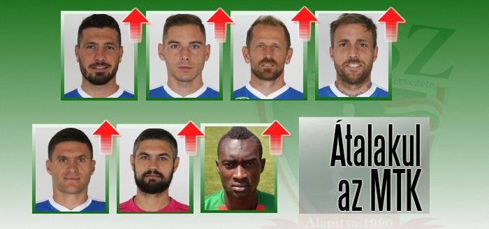 Négy magyar mellett három külföldi játékostól is elköszöntek