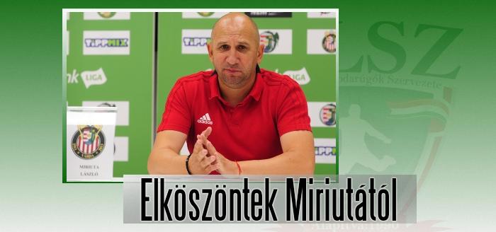 Négy hónapig volt az élvonalbeli Kisvárda vezetőedzője