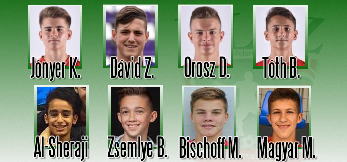 Adatbázisunk nyolc játékosa már tizenhat évesen bemutatkozott