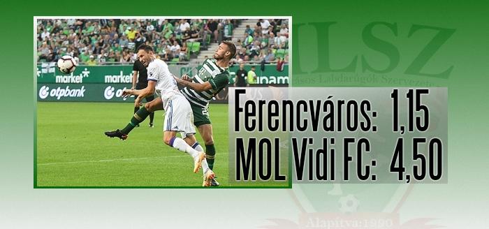 A Ferencváros bajnoki címét várják