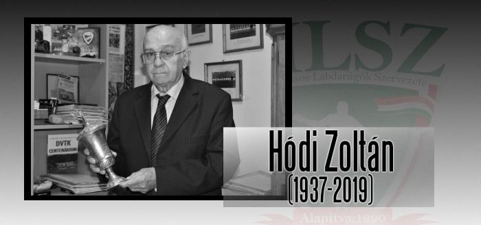 Elhunyt Hódi Zoltán