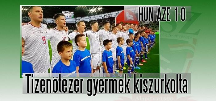 Győzelem Azerbajdzsán ellen