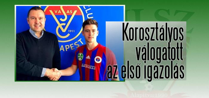 Daróczi Zoltán három évet írt alá