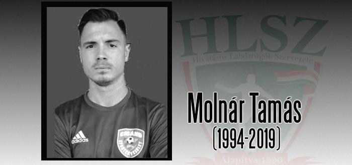 Elhunyt Molnár Tamás