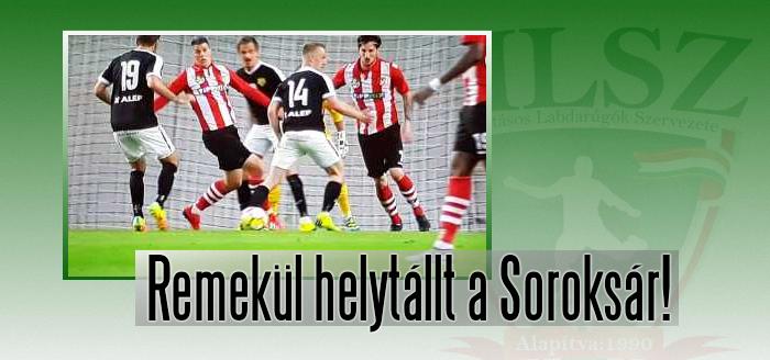 Izgalmak a Honvéd-Soroksár kupaelődöntő mérkőzésen