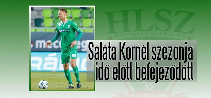 A  szlovák válogatott hátvéd keresztszalag-szakadást szenvedett