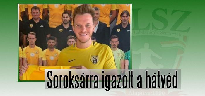 Völgyi Dániel a Magyar Kupában bemutatkozott új csapatában