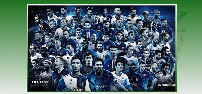 FIFA FIFPRO World XI férfi jelöltlista