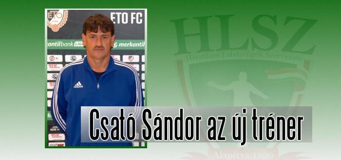 Kinevezték az ETO FC vezetőedzőjét