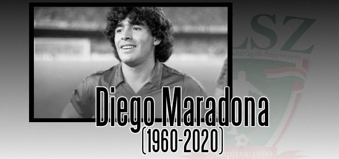 Elhunyt Diego Maradona!