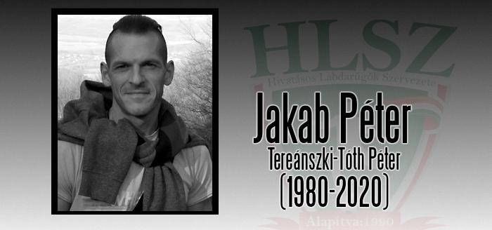 Elhunyt Jakab Péter