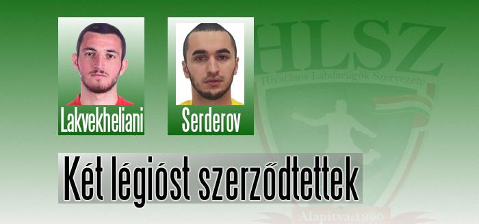 Orosz és grúz játékos Mezőkövesden