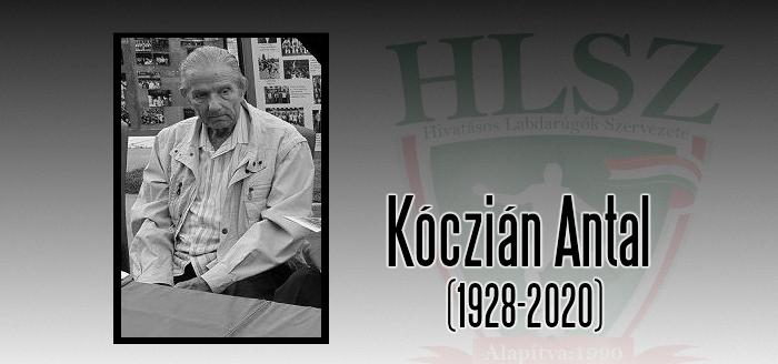 Elhunyt Kóczián Antal