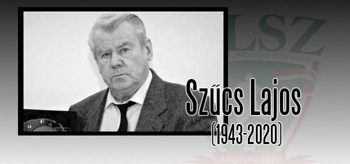 Elhunyt Szűcs Lajos
