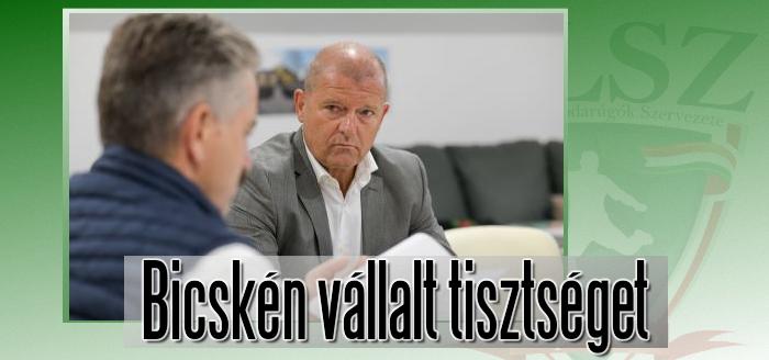 Dr. Horváth Gábor az új klubigazgató