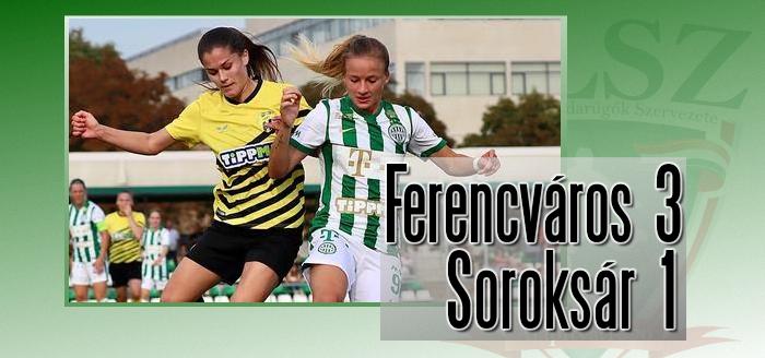 Fordított és győzött a Ferencváros