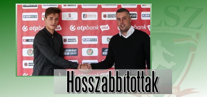 Benczenleitner Barna 2024-ig írt alá