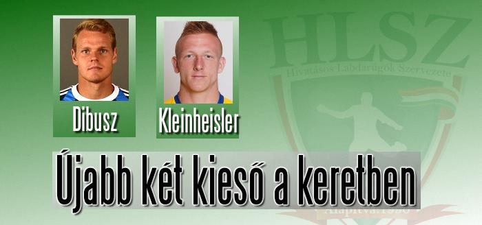 Dibusz és Kleinheisler sem játszhat
